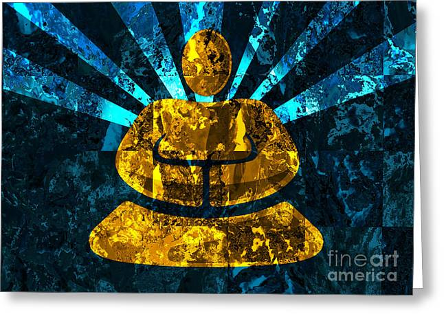 Light Within Greeting Cards - Divine Light Greeting Card by Robert Ball