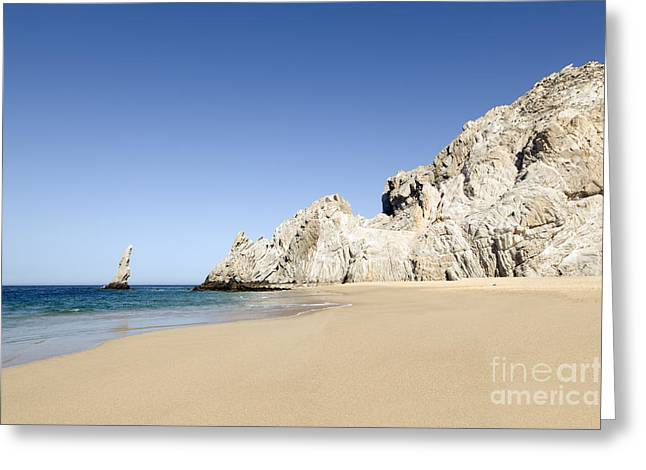 Divorce Greeting Cards - Divorce beach in Los Cabos Greeting Card by Jorge Duarte Estevao