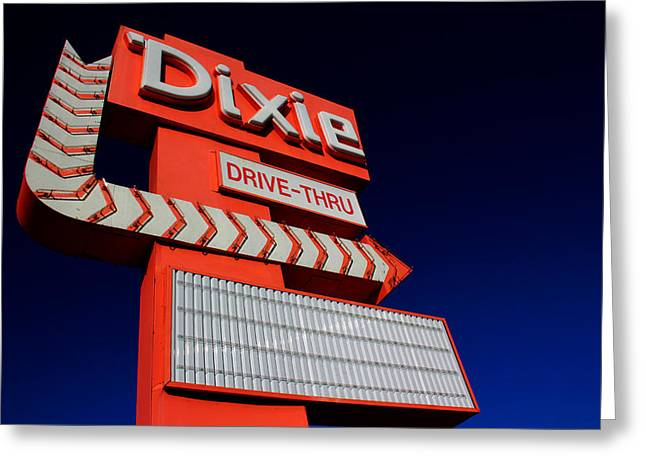 Recently Sold -  - Commercial Photography Greeting Cards - Dixie Drive Thru Greeting Card by Kelly Hazel