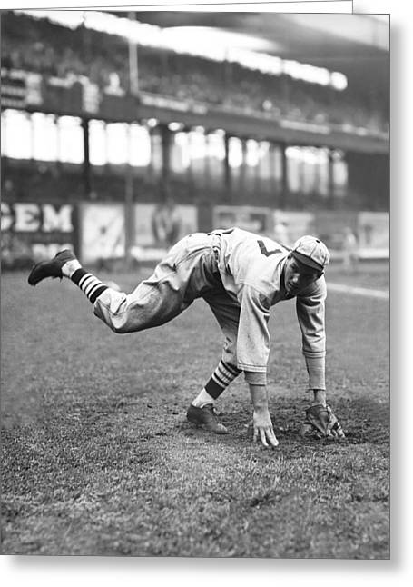Retro Antique Greeting Cards - Dizzy Dean Release Greeting Card by Retro Images Archive