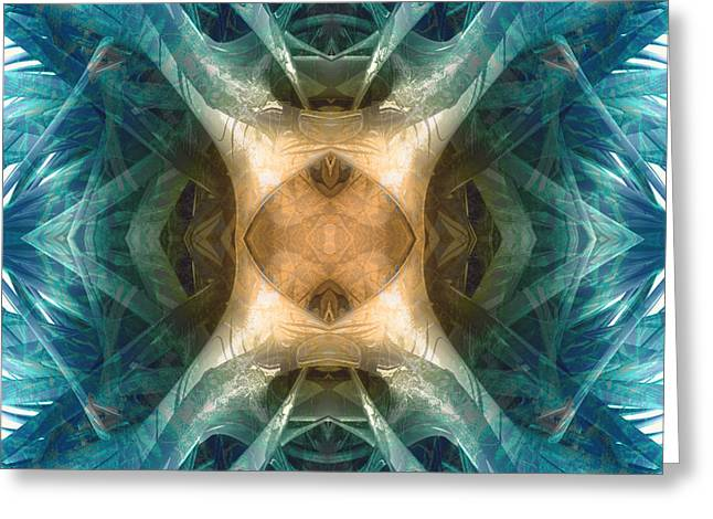 Transformations Digital Greeting Cards - Dna Activation Greeting Card by Filippo B