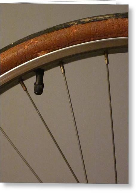 Guy Ricketts Photography Greeting Cards - Do Bicycle Tires Have Lips? Greeting Card by Guy Ricketts