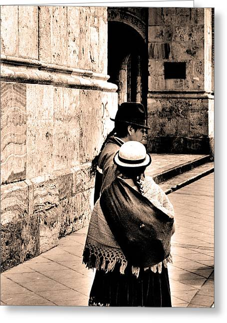 Colonial Man Photographs Greeting Cards - Do Not Change Greeting Card by Al Bourassa