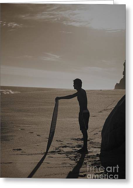 Surfing Photos Greeting Cards - Do or Dont Greeting Card by Shawn Dechant