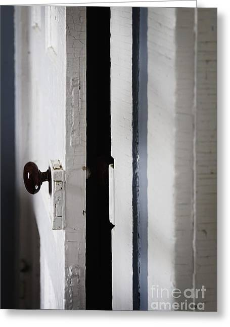 Crack House Greeting Cards - Do You Dare Enter Greeting Card by Margie Hurwich