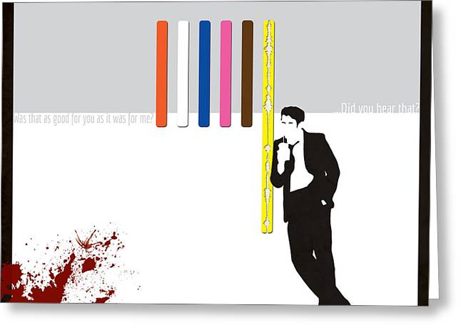 Reservoir Dogs Greeting Cards - Do You Hear That Greeting Card by Dak Mannella