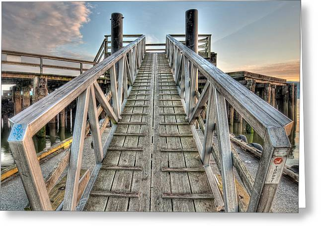 Incline Greeting Cards - Dock of the Bay Greeting Card by James Wheeler