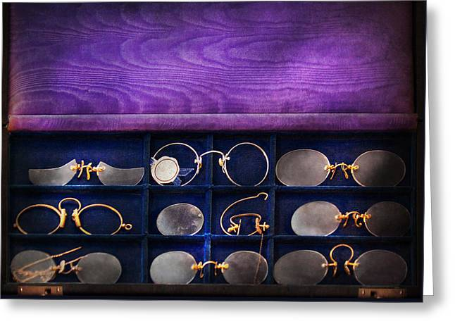 Doctor - Optometrist - Many Styles To Choose From  Greeting Card by Mike Savad