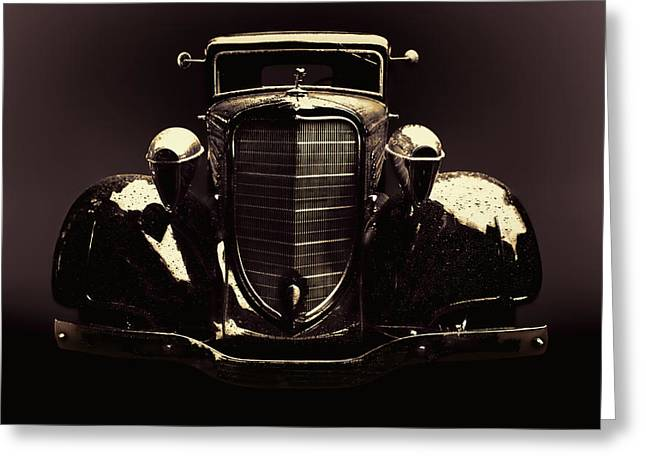 1934 Dodge Greeting Cards - Dodge 1934 Greeting Card by Adam Rozsa