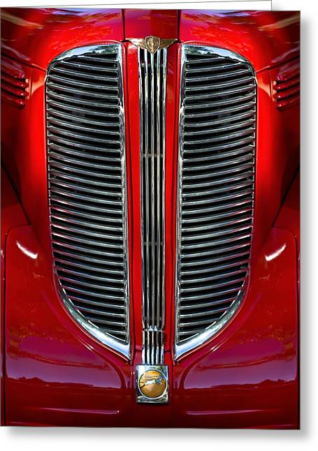 Dodge Brothers Grille Greeting Card by Jill Reger