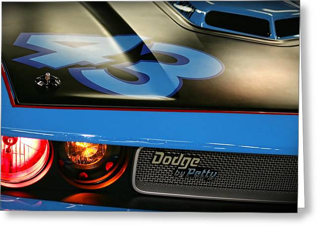 Indy Car Greeting Cards - Dodge By Petty Greeting Card by Gordon Dean II