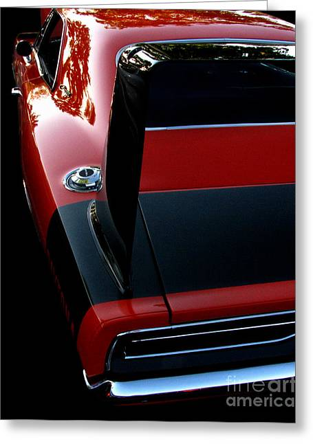 Dodge Daytona Fin Greeting Card by Peter Piatt