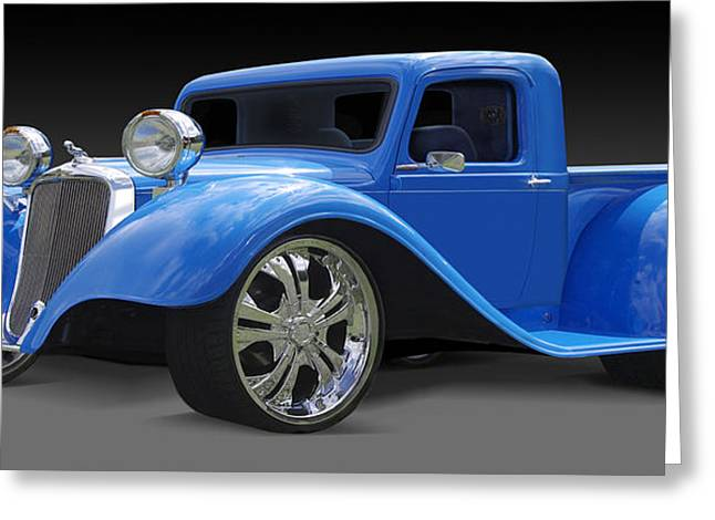 Chrome Greeting Cards - Dodge Pickup Greeting Card by Mike McGlothlen