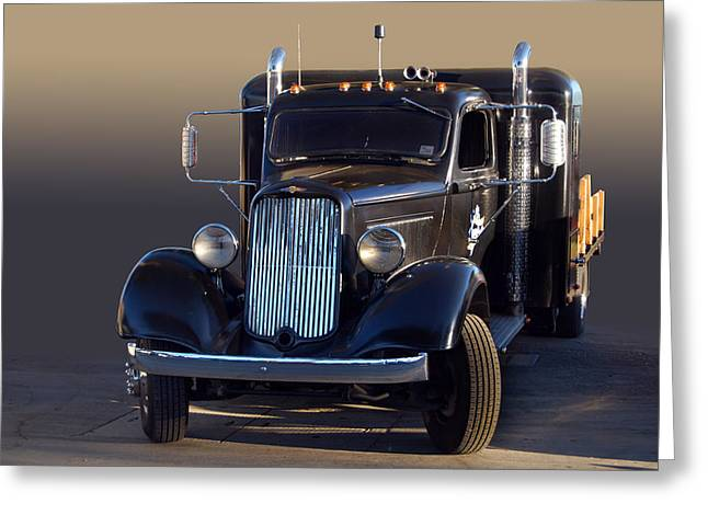 Cruisin For A Cure Greeting Cards - Dodge Sleeper Greeting Card by Bill Dutting