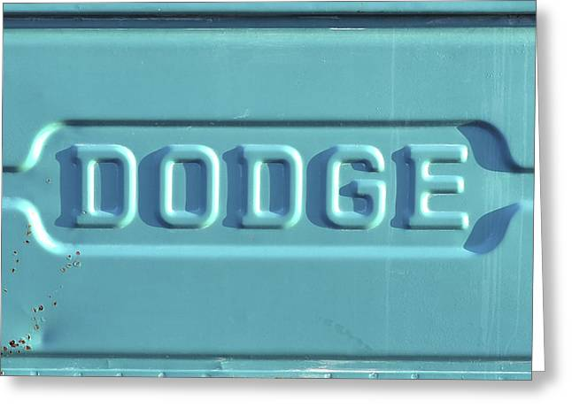 Extreme Restaurant Greeting Cards - Dodge Truck Tailgate Greeting Card by Terry DeLuco