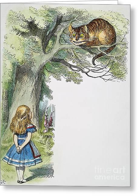 Children Literature Greeting Cards - Dodgson: Alice, 1865 Greeting Card by Granger