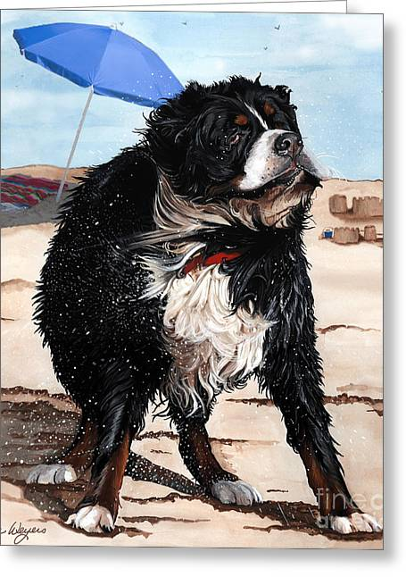 Liane Greeting Cards - Dog Days of Summer Greeting Card by Liane Weyers