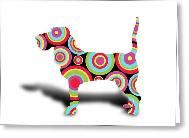 Boxer Digital Greeting Cards - Dog Greeting Card by Mark Ashkenazi