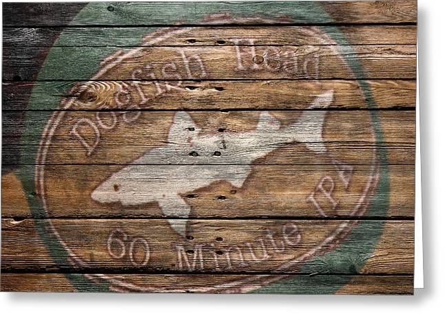 Hops Greeting Cards - Dogfish Head Greeting Card by Joe Hamilton