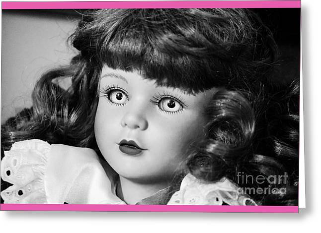 Daughter Gift Greeting Cards - Doll 9  Greeting Card by Robert Yaeger