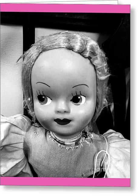 Thin Eyebrows Greeting Cards - Doll 1 Greeting Card by Robert Yaeger