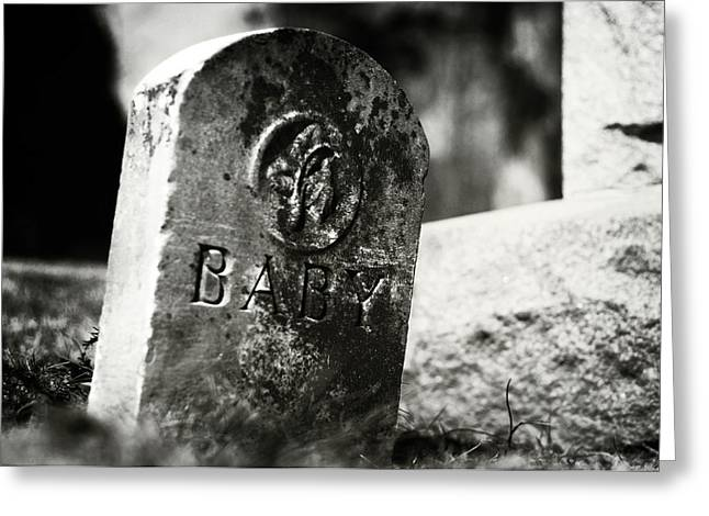 Headstones Greeting Cards - Dolls of Joy and Grief Greeting Card by Rebecca Sherman