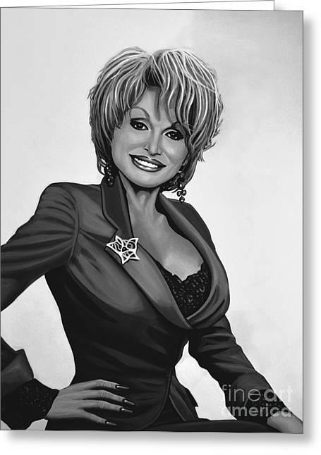 I Will Always Love You Greeting Cards - Dolly Parton Greeting Card by Meijering Manupix