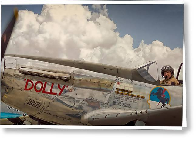 P51 Photographs Greeting Cards - Dolly Greeting Card by Steve Benefiel