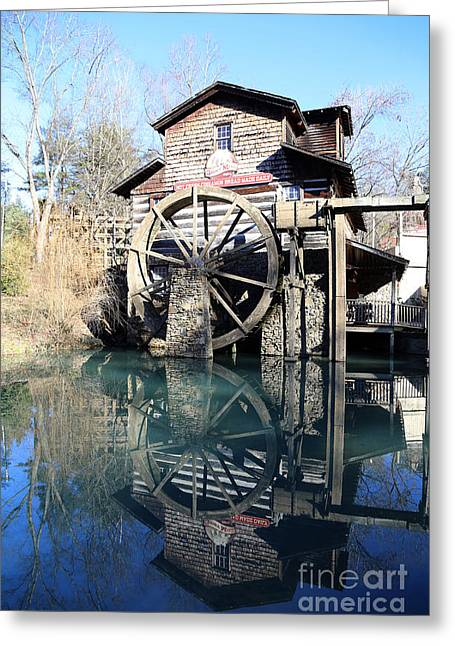 Grist Mill Greeting Cards - Dolly Wood water Mill Greeting Card by Dwight Cook