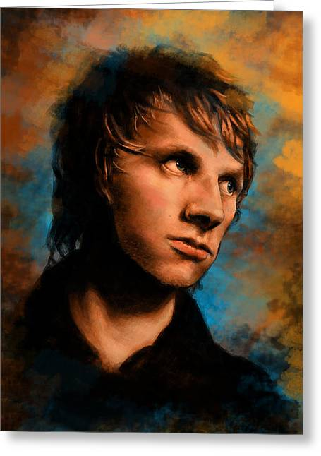 Second Hole Greeting Cards - Dom Howard Greeting Card by J England
