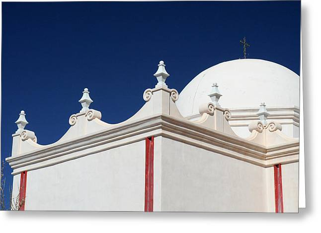 Arizona Greeting Cards - Dome at the Mission Greeting Card by Joe Kozlowski