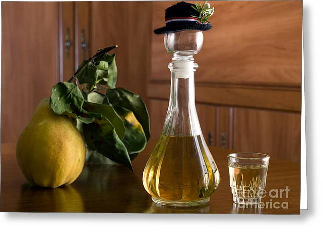 Fermentation Photographs Greeting Cards - Domestic table Greeting Card by Sinisa Botas