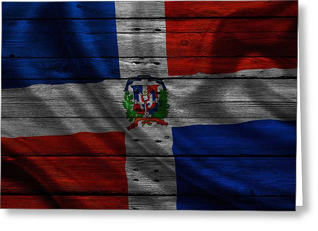 Continent Greeting Cards - Dominican Greeting Card by Joe Hamilton