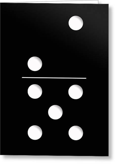 Kids Greeting Cards - Domino Case Greeting Card by Nicklas Gustafsson