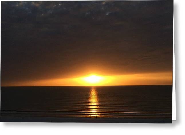 St Petersburg Florida Greeting Cards - Don Cesar Penthouse Sunset 1 Greeting Card by Nicki La Rosa