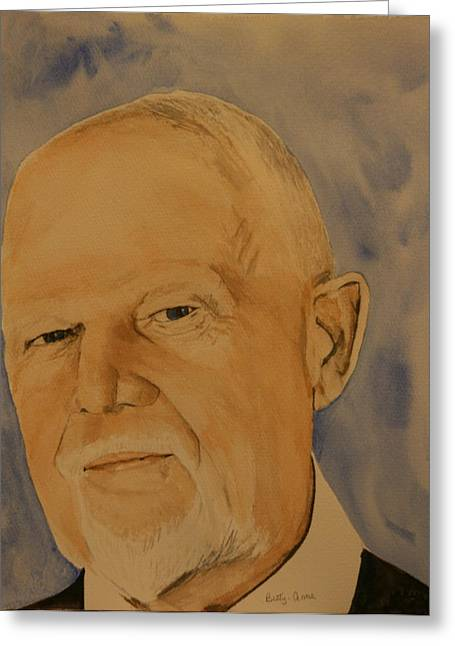 Don Cherry Greeting Cards - Don Cherry Greeting Card by Betty-Anne McDonald