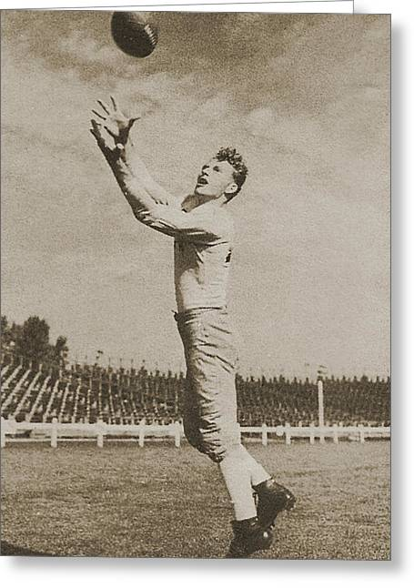 Sport Legends Greeting Cards - Don Hutson Greeting Card by Gianfranco Weiss