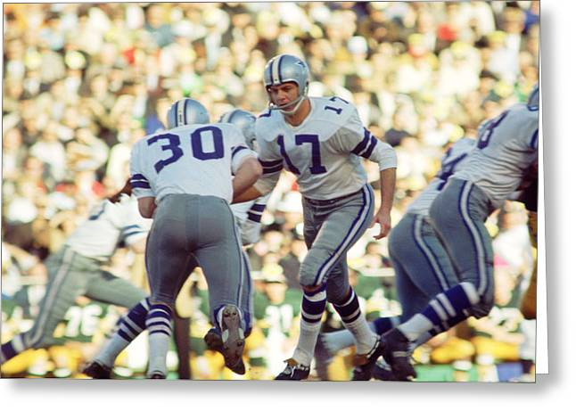 National Football League Greeting Cards - Don Meredith Hands Off Greeting Card by Retro Images Archive