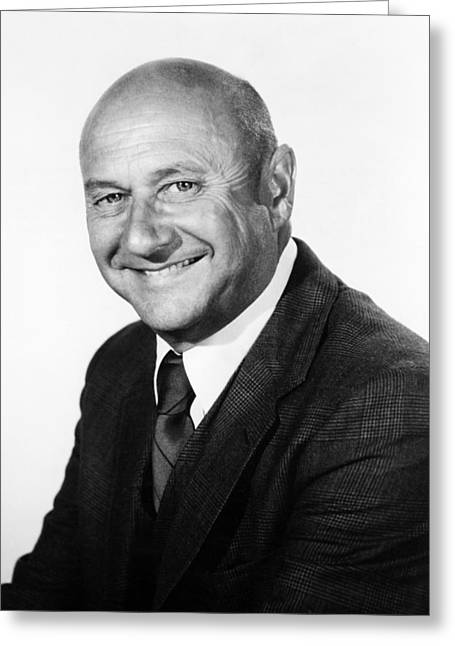 Escaped Greeting Cards - Donald Pleasence in Escape to Witch Mountain  Greeting Card by Silver Screen