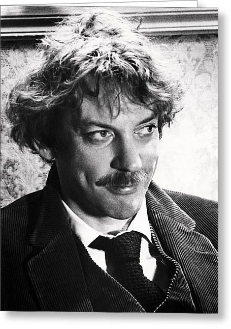Donald Greeting Cards - Donald Sutherland Greeting Card by Silver Screen