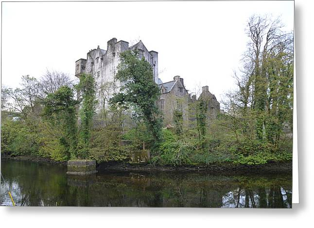 Fort River Greeting Cards - Donegal Castle Ruins Greeting Card by Bill Cannon