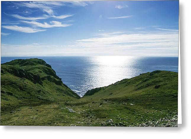 Most Greeting Cards - Donegal the Most Beautiful Place on Earth Greeting Card by Bill Cannon