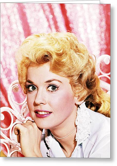 Donna Greeting Cards - Donna Douglas in The Beverly Hillbillies  Greeting Card by Silver Screen