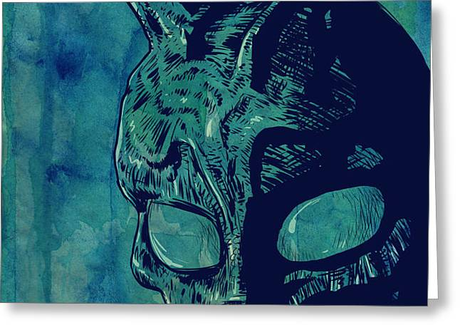 Donnie Darko Greeting Card by Giuseppe Cristiano