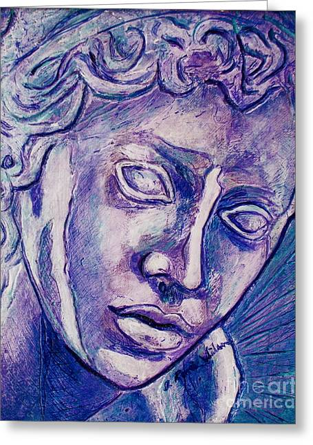 Don't Blink Greeting Card by D Renee Wilson