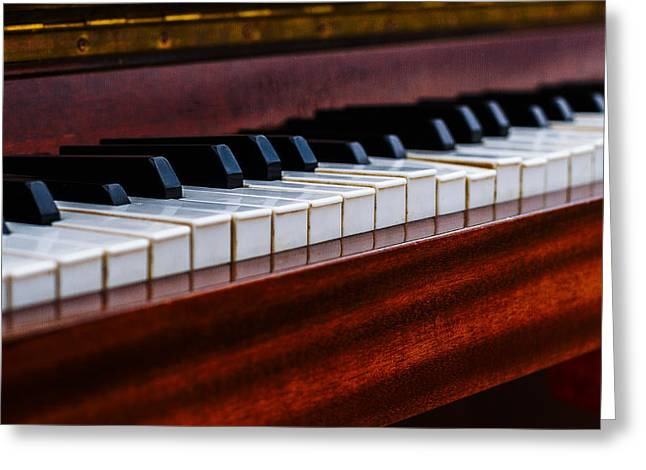 Reflex Greeting Cards - Dont Shoot The Pianist 1 Greeting Card by Alexander Senin