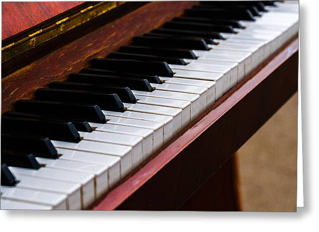 Reflex Greeting Cards - Dont Shoot The Pianist 3 Greeting Card by Alexander Senin