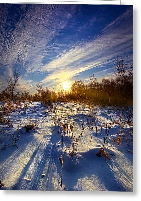 Winter Park Greeting Cards - Dont Stop Believin Greeting Card by Phil Koch
