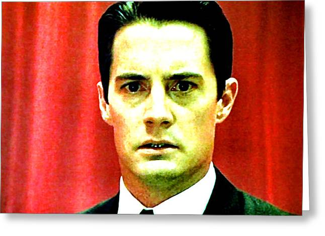 Special Agent Dale Cooper Greeting Cards - Dont Take The Ring Laura Greeting Card by Luis Ludzska