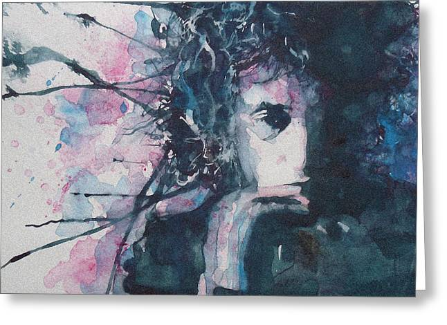 Don't Think Twice It's Alright Greeting Card by Paul Lovering